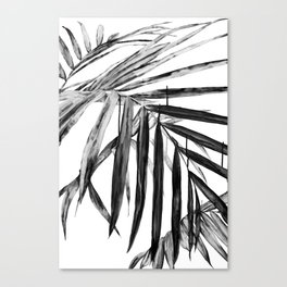 MONOCHROME BOTANICALS Canvas Print