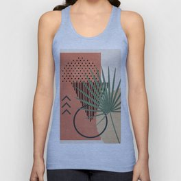 Nature Geometry II Unisex Tank Top
