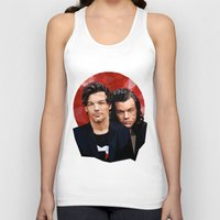 larry Tank Tops featuring Polygonal Larry by Peek At My Dreams