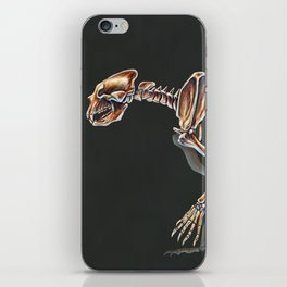 Arctodus Simus Skeletal Study (No Labels) iPhone Skin