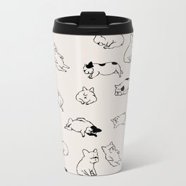 More Sleep Frenchie Metal Travel Mug