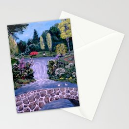 My Garden - by Ave Hurley Stationery Cards