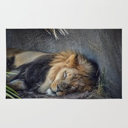 The Lion Sleeps Tonight Rug