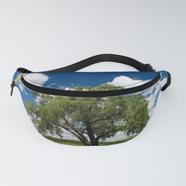 Tree with Grass Blades Fanny Pack