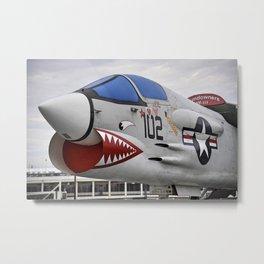 1957 F-8K Crusader Metal Print