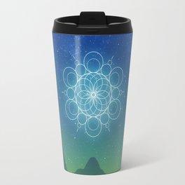 Sacred Geometry (Cosmic Connection) Travel Mug