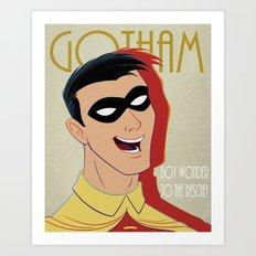 Gotham #2 Art Print