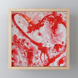 Love | Amour Framed Mini Art Print