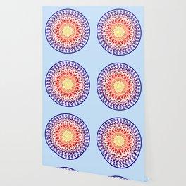 Bright Sky Mandala Wallpaper