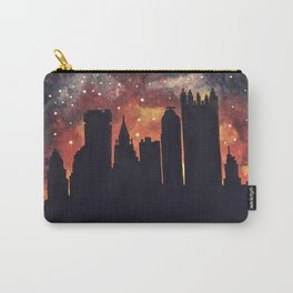 Starry Night in Pittsburgh Carry-All Pouch