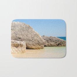 Arrabida Beach Portugal Bath Mat