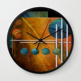 3D for duffle bags and more -5- Wall Clock