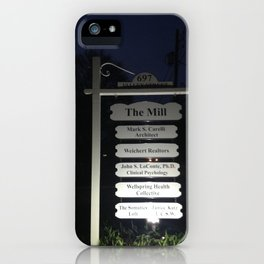 Maplewood - The Mill - Night iPhone Case