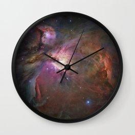 NEBULAS OF THE UNIVESE Wall Clock