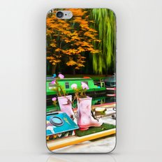 Colors On A Canal London iPhone Skin