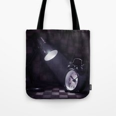 Zeiteinblendung Tote Bag