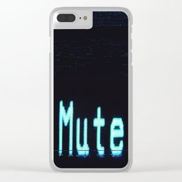 mutesort Clear iPhone Case