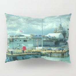 HMS Queen Elizabeth Pillow Sham