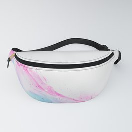Pink Abstract Art Fanny Pack