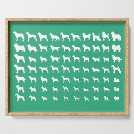 All Dogs (Mint) Serving Tray