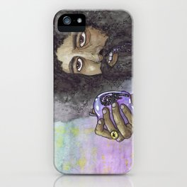 """Reggie Watts"" by Cap Blackard iPhone Case"