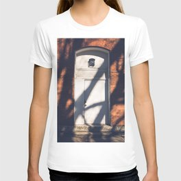 Light and Shadow, In the Door series, from my street photography collection T-shirt