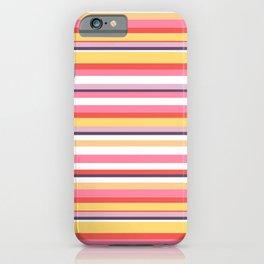 Yummy Stripe  Renee Davis iPhone Case