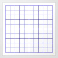 grid Art Prints featuring GRID by G-VNCT