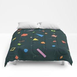Polygon Soup Comforters