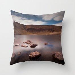 Llyn y Fan Fach Lake Throw Pillow