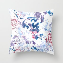 Botanical Impressions: BOUQUET 1 Throw Pillow