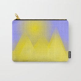 The three pyramids in the sun Carry-All Pouch