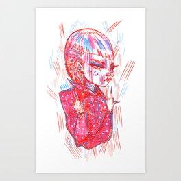 """""""Nails On FleeK"""" Art Print"""