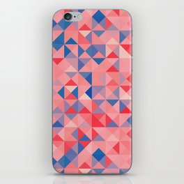 colorful Triangles 1 iPhone Skin