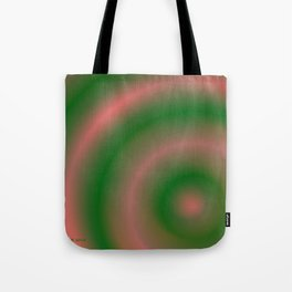 Green and Pink Tote Bag