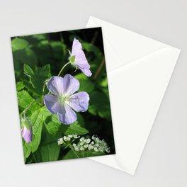 Wild Geranium Stationery Cards