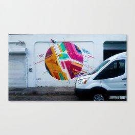 WhiteVan Canvas Print