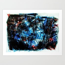 [no one know for sure] Art Print