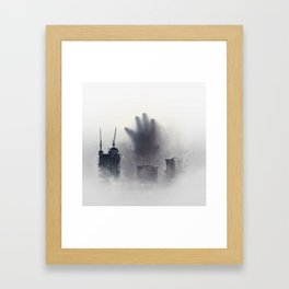 The Unwanted Thing in the Fog Framed Art Print