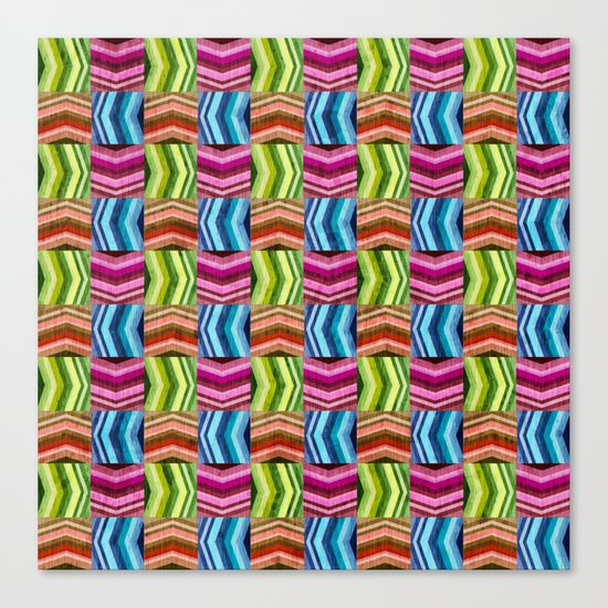 Left, Right, Up, Down Canvas Print