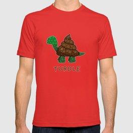 Turdle - Poop - Turtle - 57 Montgomery Art T-shirt