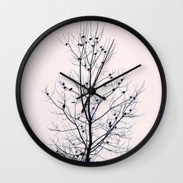 Sapling Wall Clock
