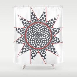 Geometric Eye Into a Star Shower Curtain