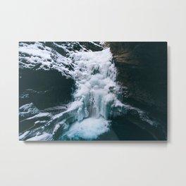 Icy Floes Metal Print