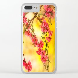 Spring is beautiful Clear iPhone Case
