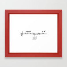 Who's Watching? Framed Art Print