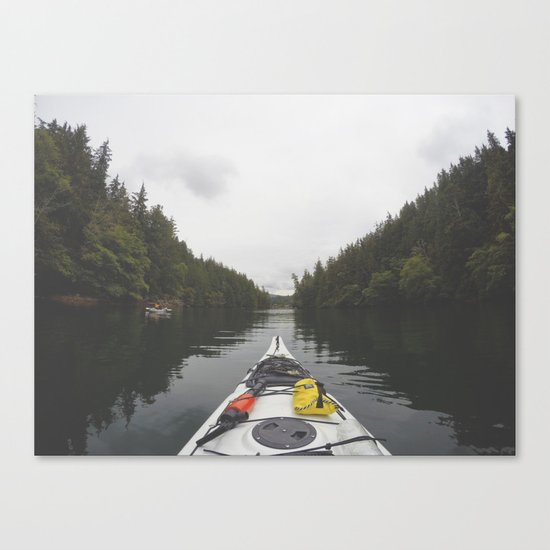 Live the Kayak Life Canvas Print