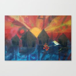 the fierce urgency of now, 3 Canvas Print