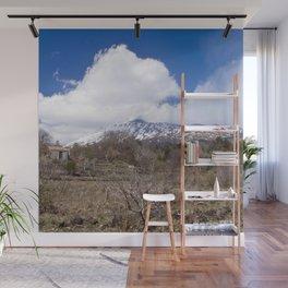 Sicilian Volcano ETNA Wall Mural