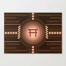 Torii no power Canvas Print